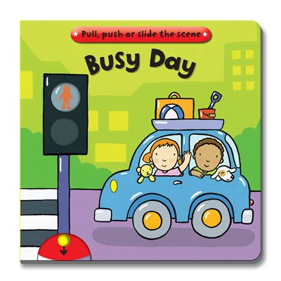 Book cover for Busy Books: Busy Day